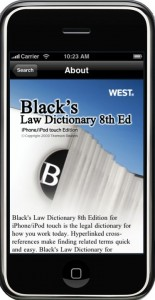 Blacks Law Dictionary App