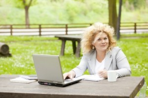 online learning in park